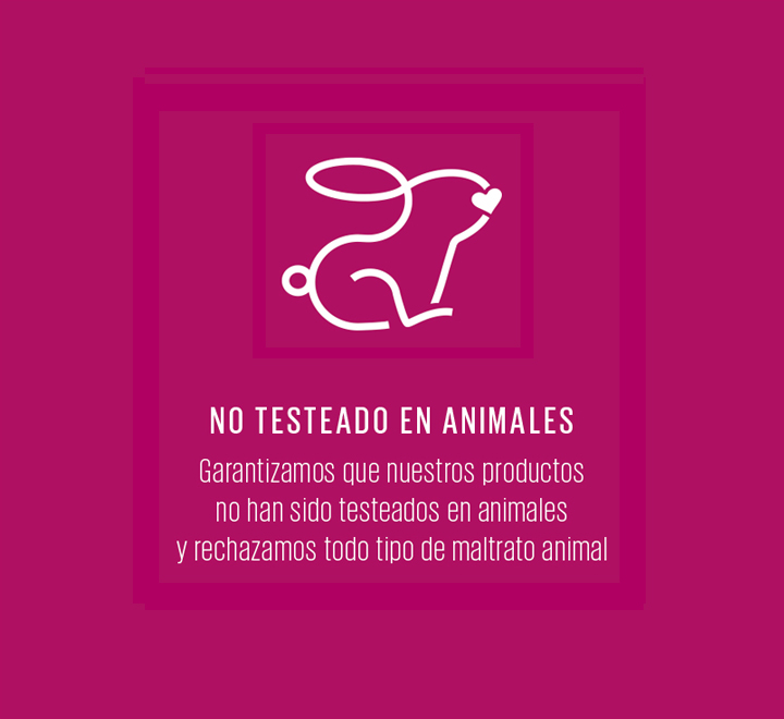 No testeado en animales