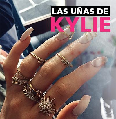 Uñas al estilo de Kylie Jenner