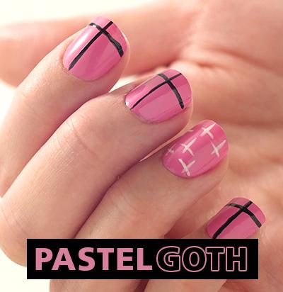 Uñas Pastel Goth: Al estilo de Lau de NAMH