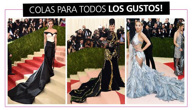 MET GALA - Mejores looks - Vestidos con cola
