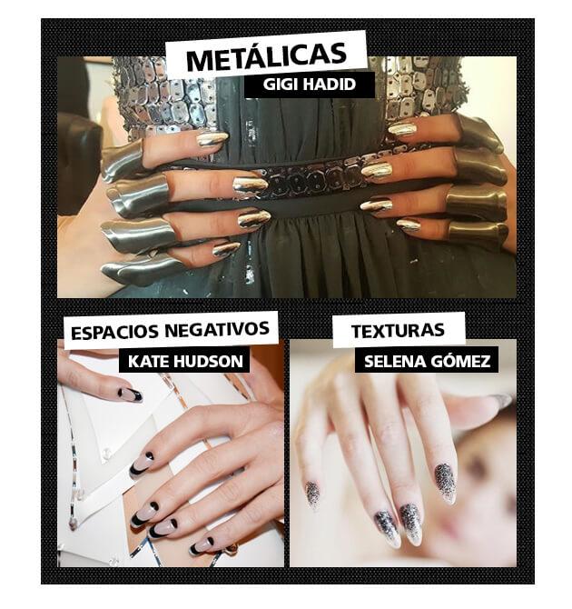 MET GALA - diseño de uñas