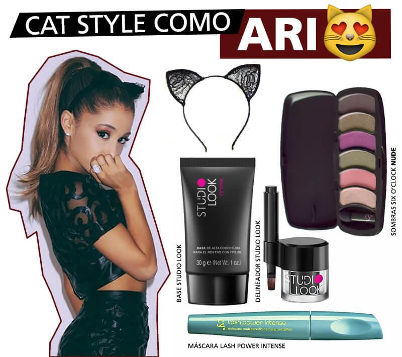 Disfraces para Halloween: Conviértete en Ariana Grande