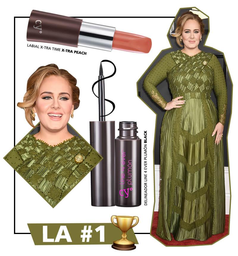 Adele en los Grammys 2017