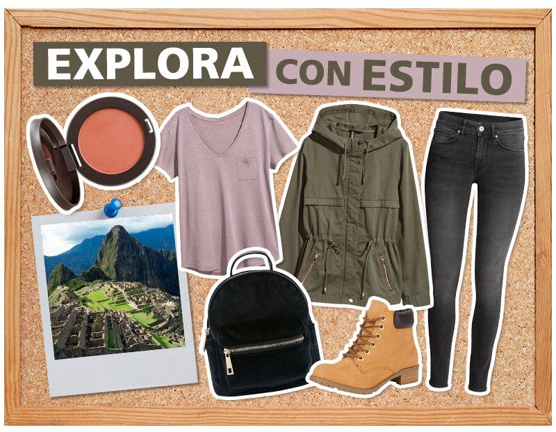 Outfit viajar aventura