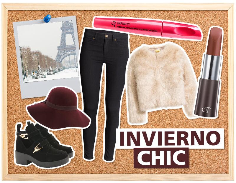 outfits viajar en invierno