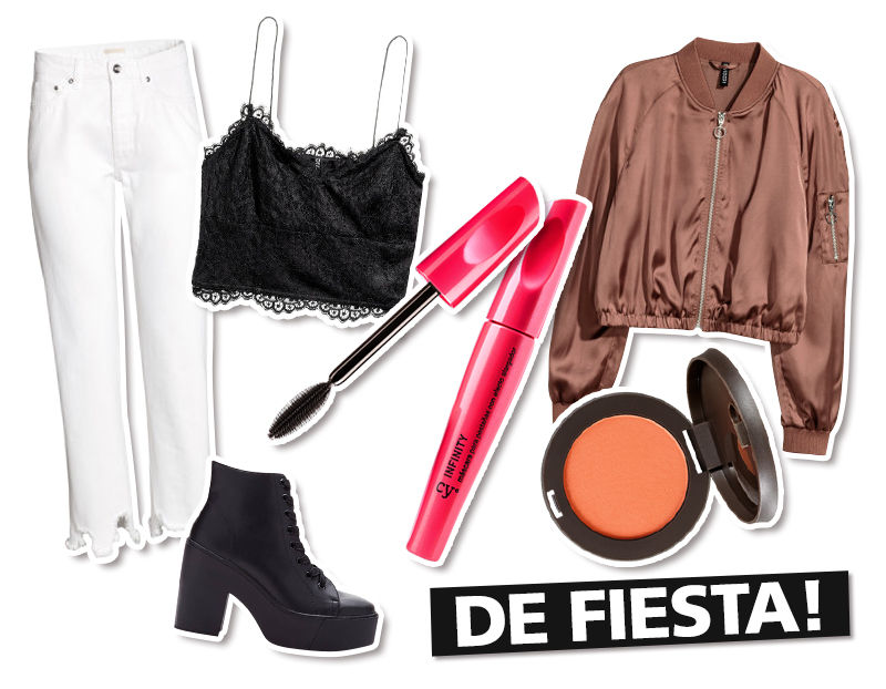 Looks con bomber jacket