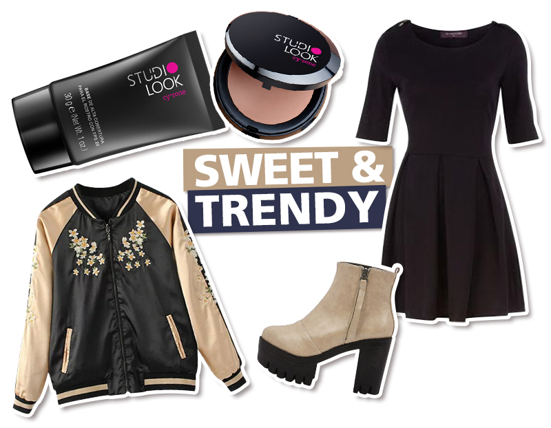 trendy Looks con bomber jacket