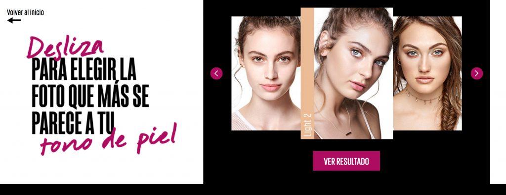 Maquillador virtual de Cyzone