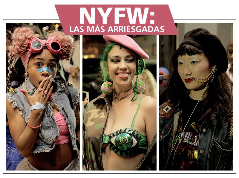 Los mejores looks del NYFW: las más arriesgadas