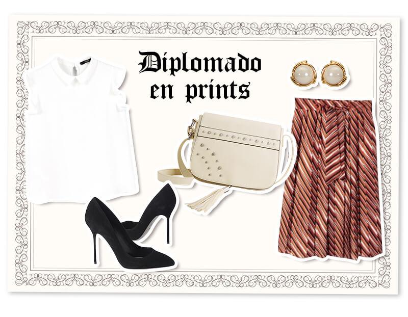 Outfits para graduación: falda