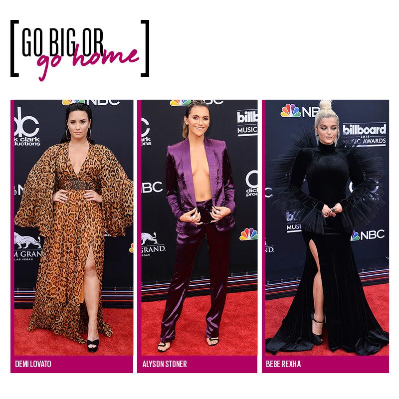 Red carpet Billboard 2018