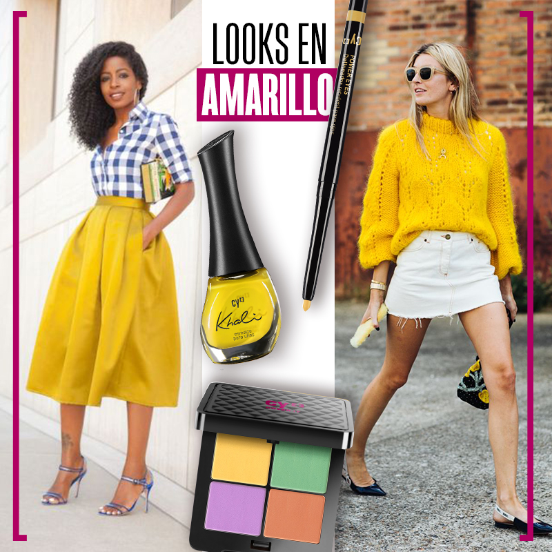 Looks en amarillo