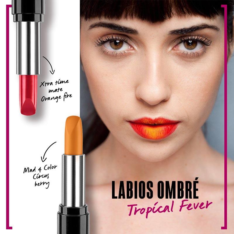 Labios ombré: Tropical Fever | Fuente: Google Image