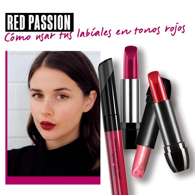 Red passion. Cómo usar tus labiales en tonos rojos | Fuente: Google Image