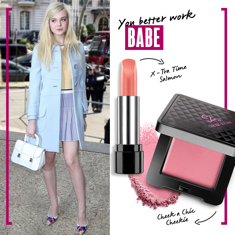 Outfit color pastel para el trabajo: You better work babe | Fuente: Google Image
