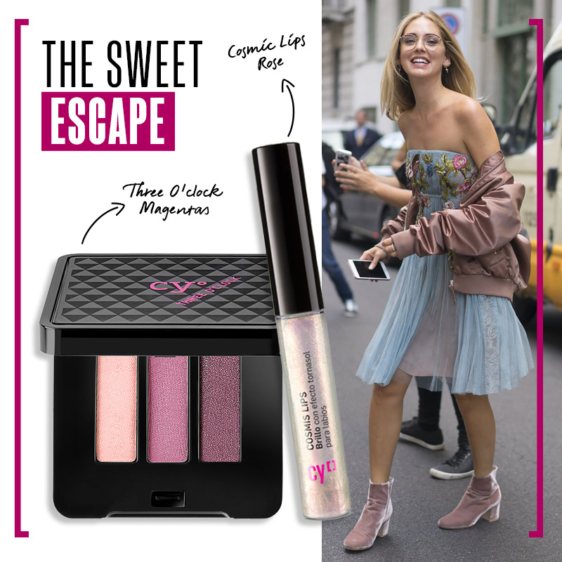 Look romántico: The sweet escape
