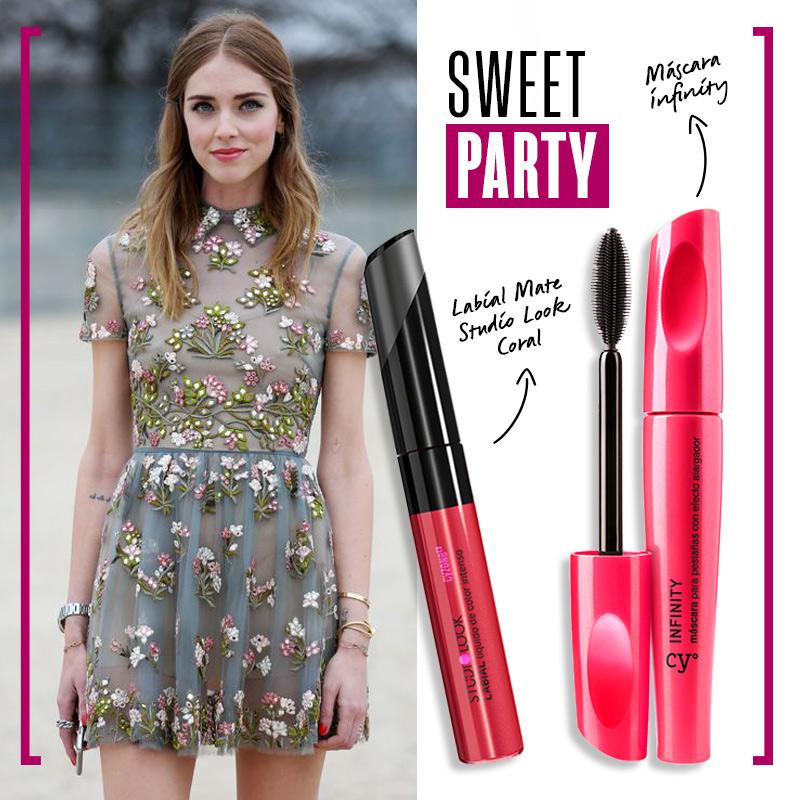 Look de noche: sweet party | Fuente: Google Image