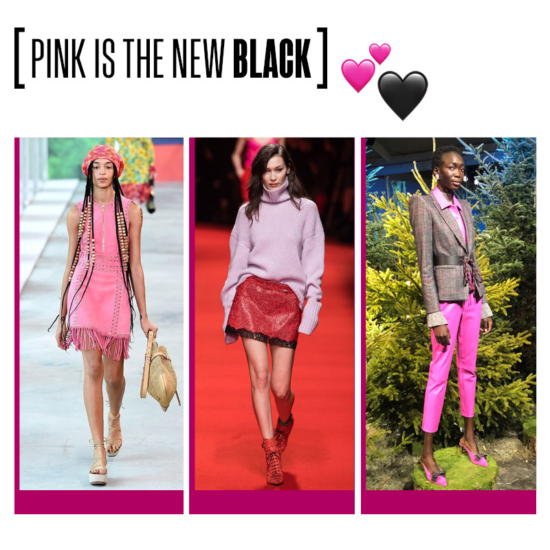 Pink is the new black | Fuente: Google Image