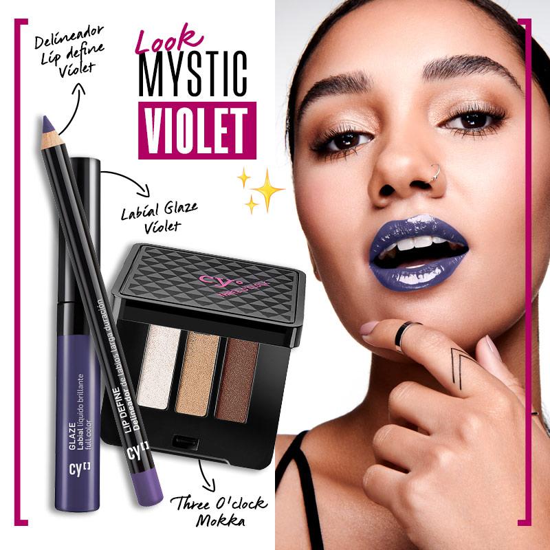 Look mystic violet | Fuente: Google Image