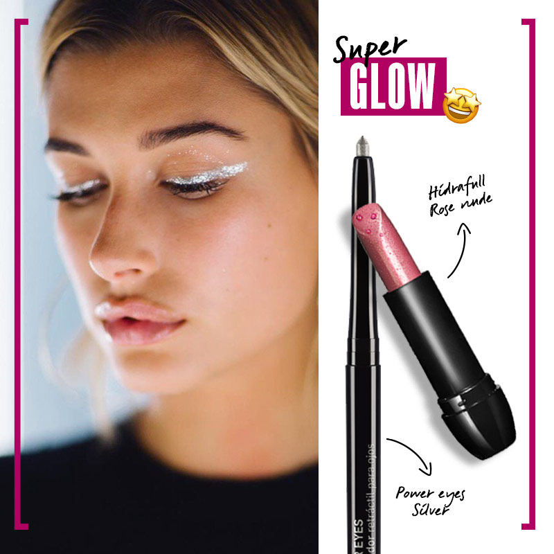 Look Super Glow | Fuente: Pinterest
