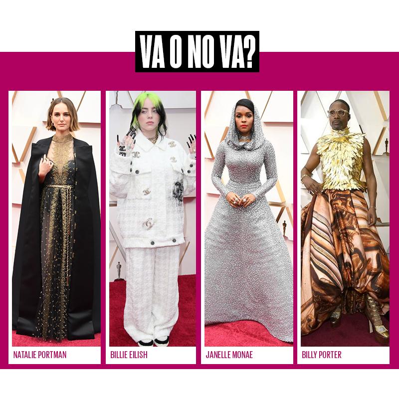 las mejor vestidas en los Oscars 2020