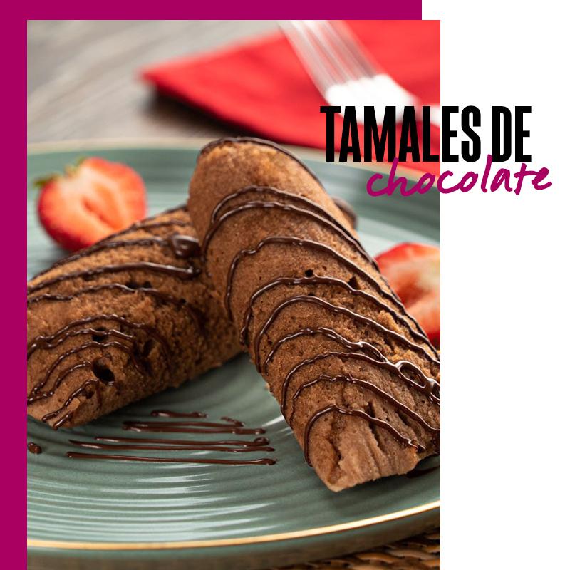 Postre mexicano: tamales de chocolate | Fuente: Google Images