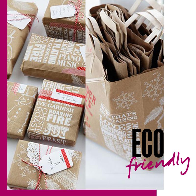 Envolturas de regalos de navidad - Regalo Eco friendly | Fuente: Google Images