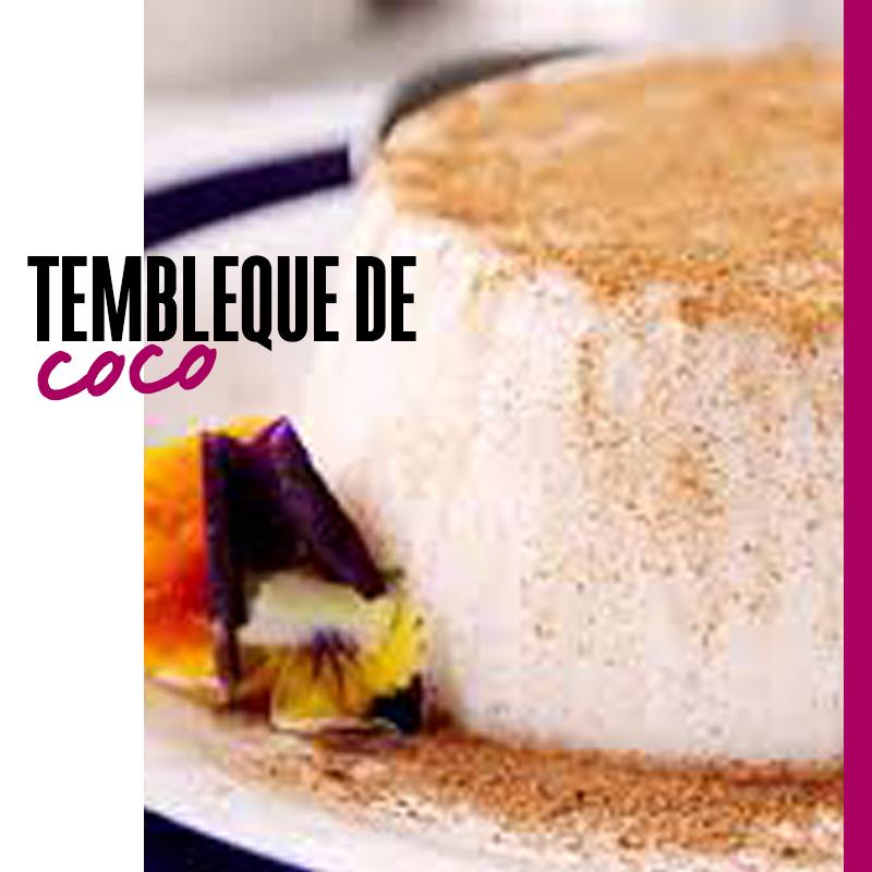 postre de Puerto rico: tembleque de coco | Fuente: Google Images