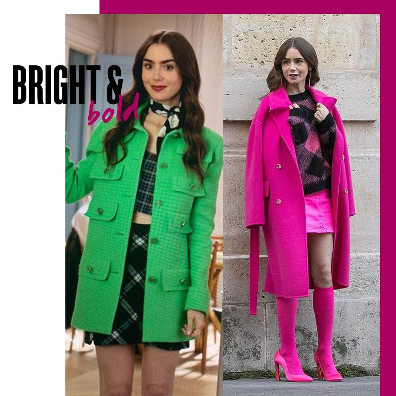 Looks de Emily in Paris: Bright & bold | Fuente: Google Image