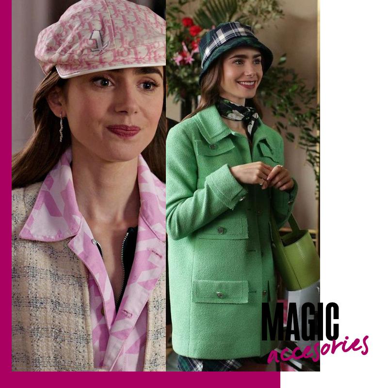 Looks de Emily in Paris: magic accesories | Fuente: Google Image