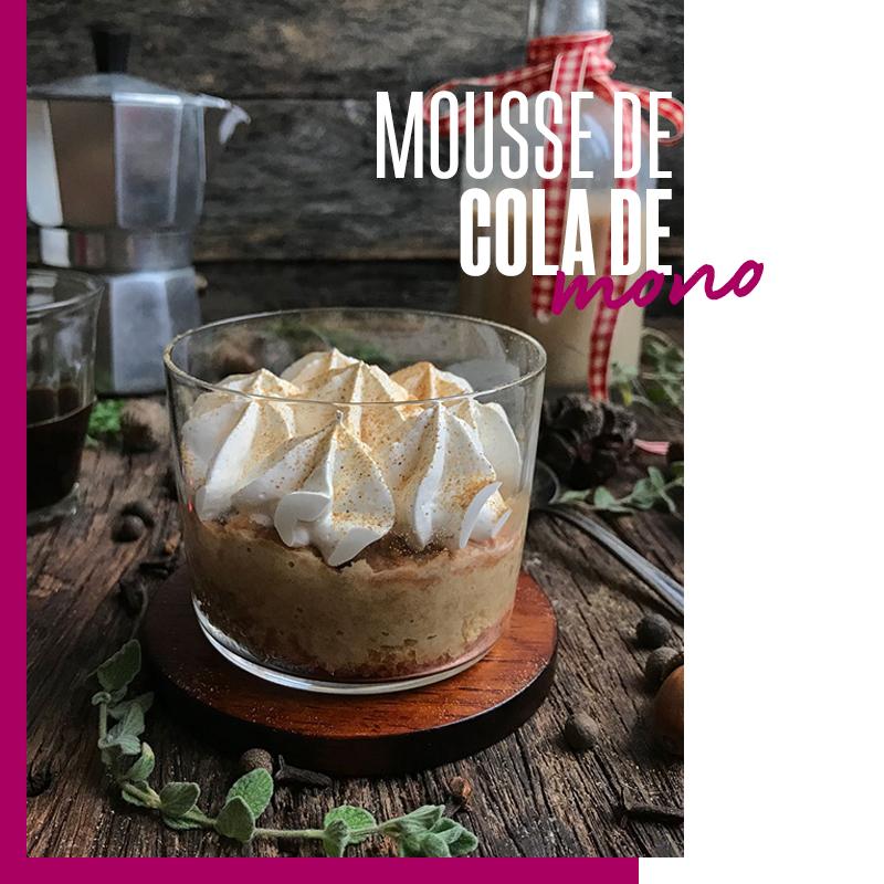 Postre chileno: Mousse de cola de mono | Fuente: Google Images