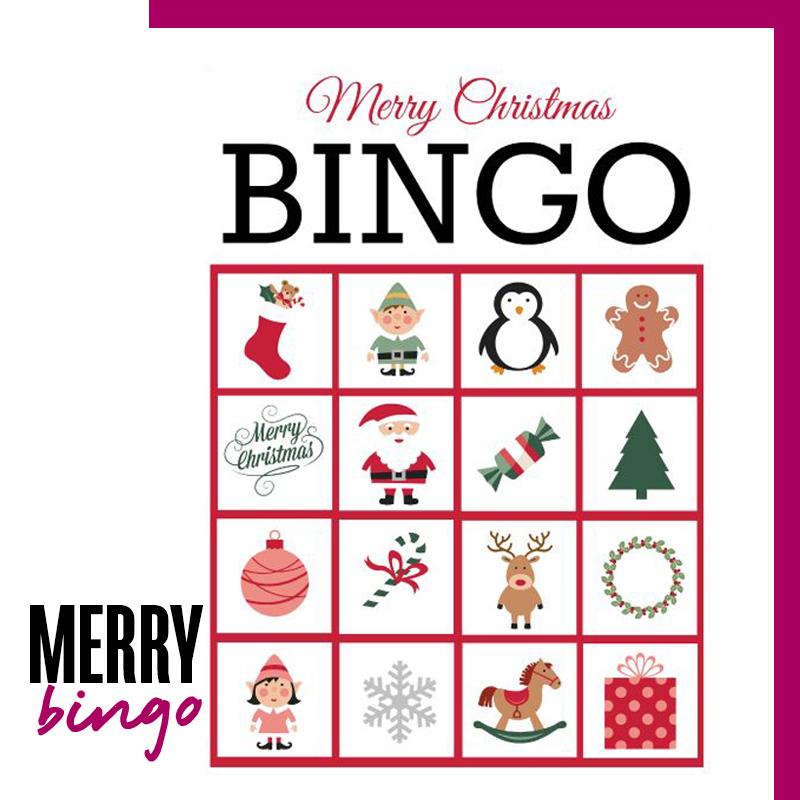 Ideas de navidad en familia: Hacer y jugar un bingo navideño | Fuente: Google Images