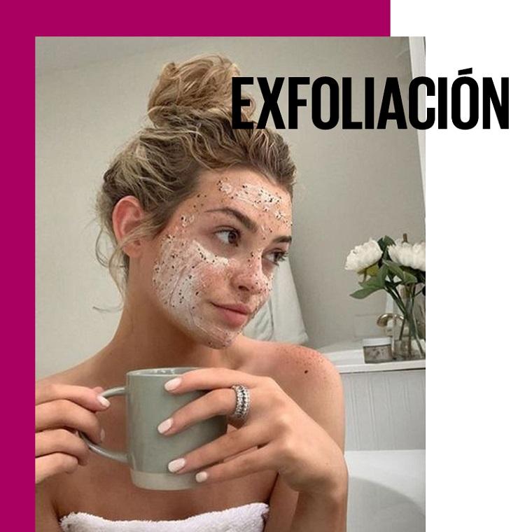 No le temas a la exfoliación en verano: exfoliación | Fuente: Google Images