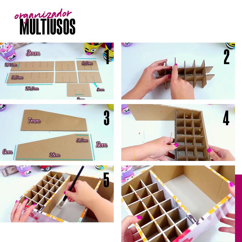 organizador multiusos DIY | Fuente: Google Images